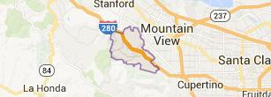 Los Altos Hills Map - Bay Area Real Estate Catherine Hendricks