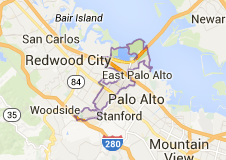 Map of Menlo Park - Real Estate Catherine Hendricks Silicon Valley