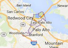 Map of Menlo Park - Real Estate Catherine Hendricks Silicon Valley