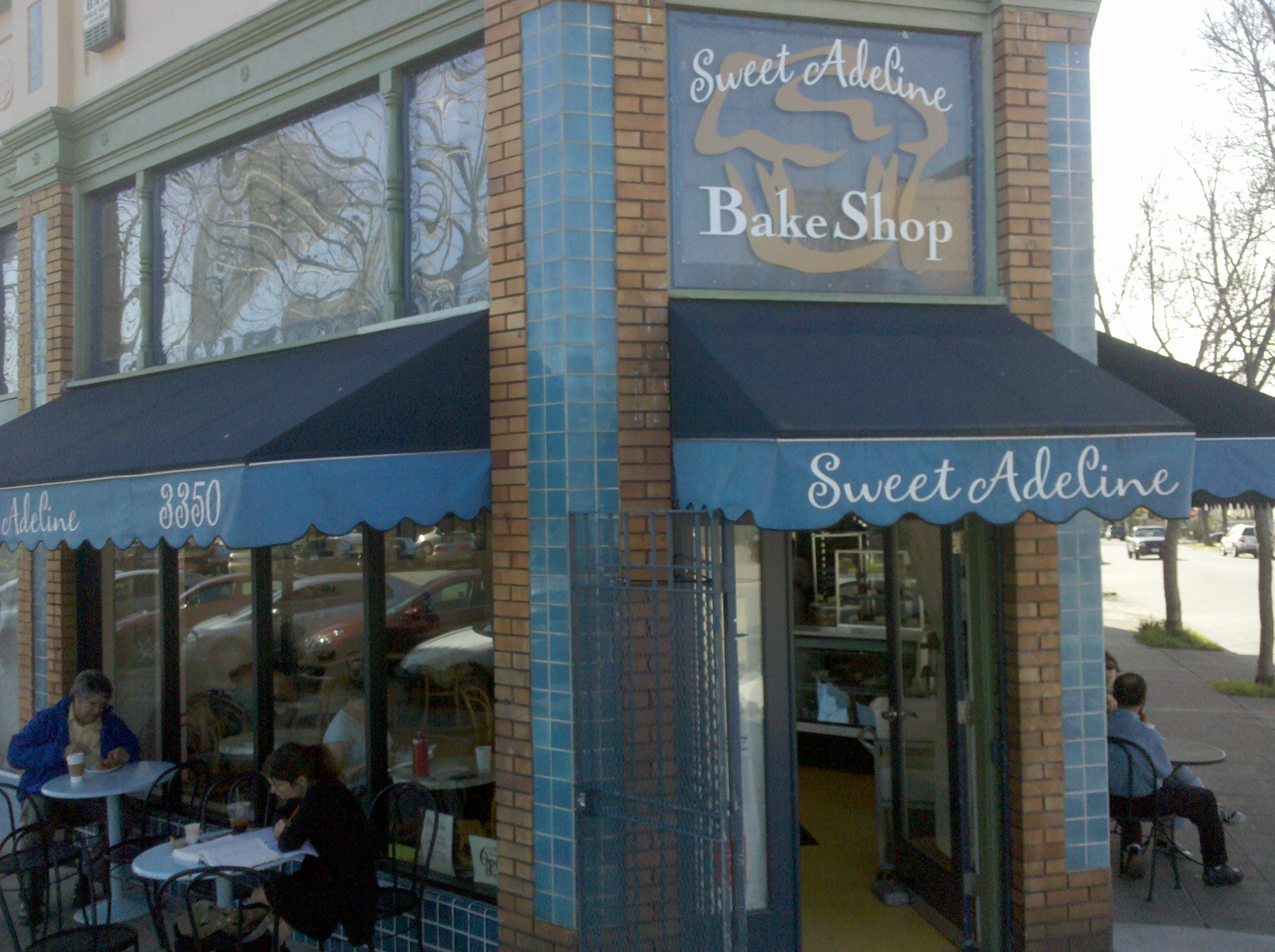 Sweet Adeline Bake Shop at 63rd St and Adeline Ave.