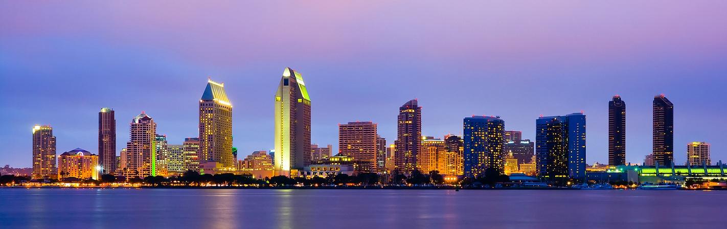 San Diego Downtown, el centro de San Diego...