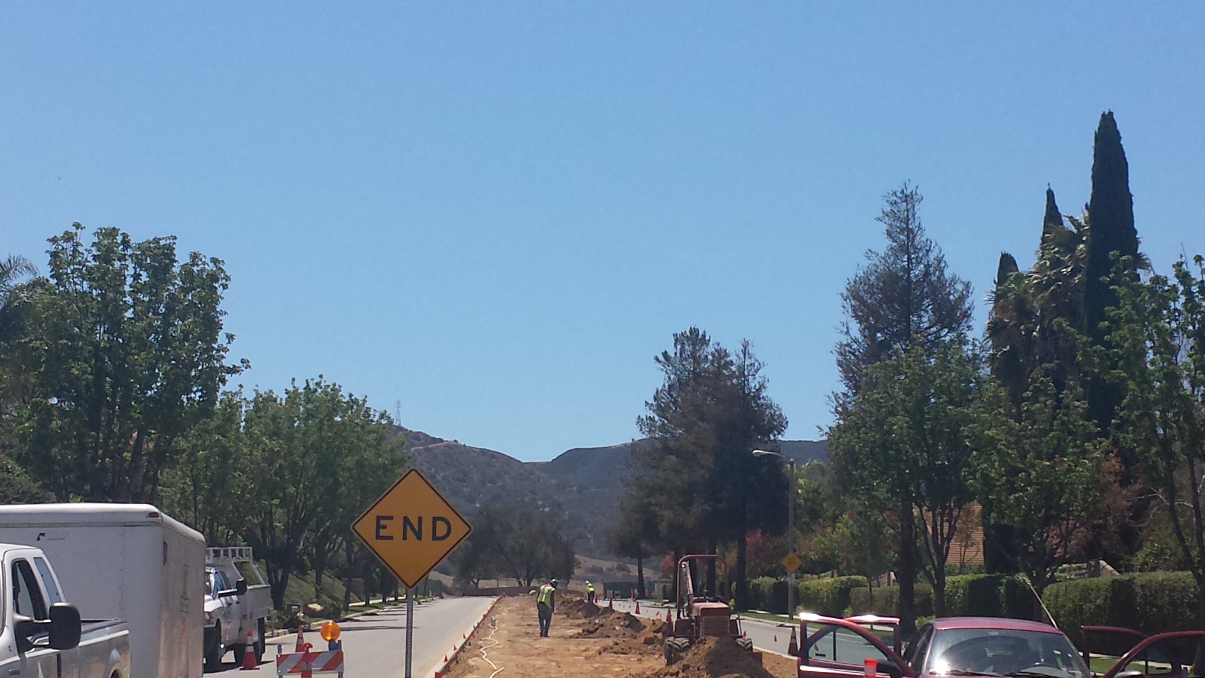 Runkle Ranch Rd, This leads right into Runkle Canyon Homes