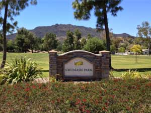 Chumash Park in Agoura Hills