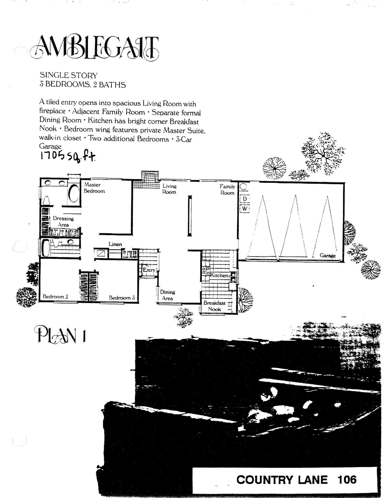 Country Lane - Amblegait - Plan 1