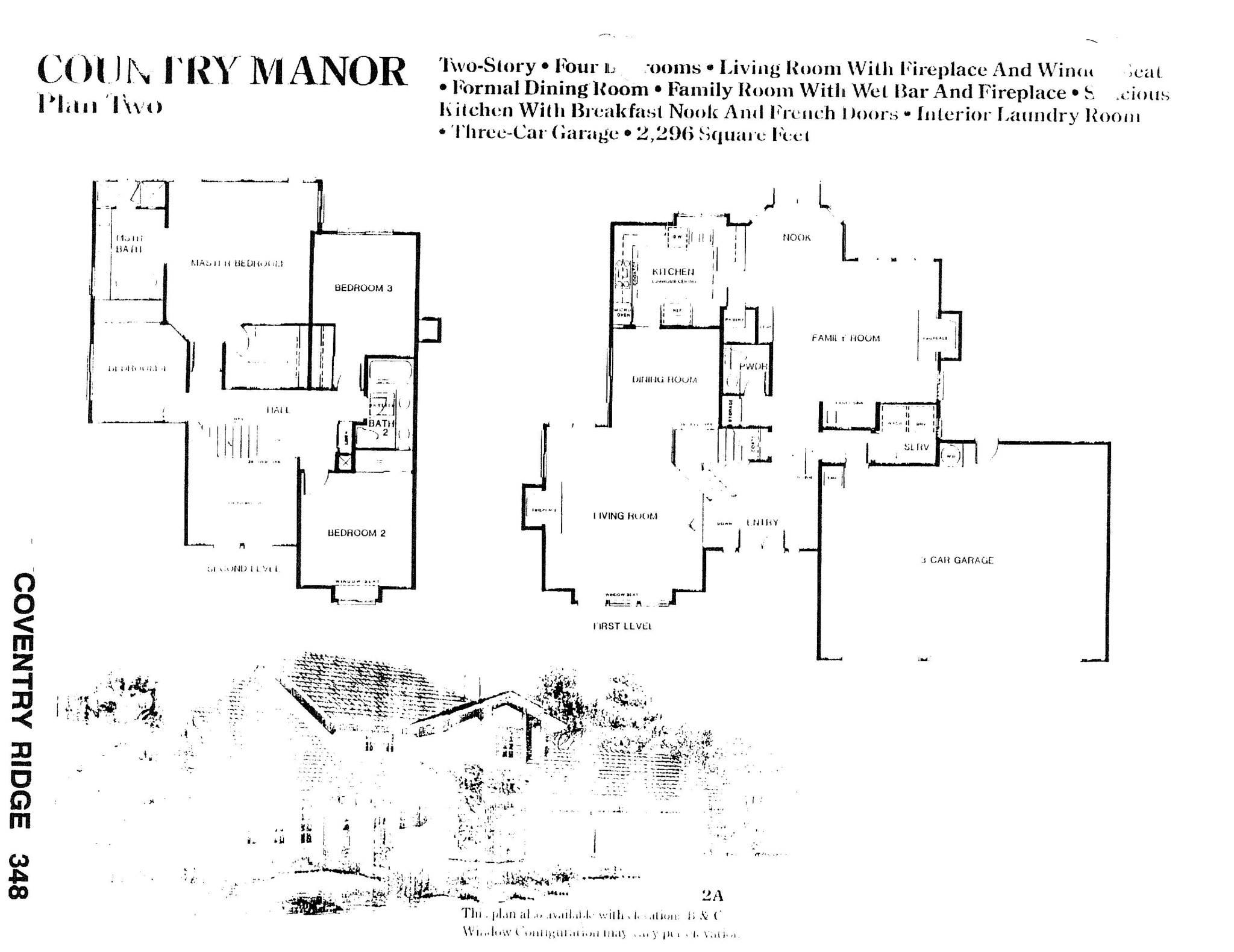 Coventry Ridge - Country Manor - Plan Two