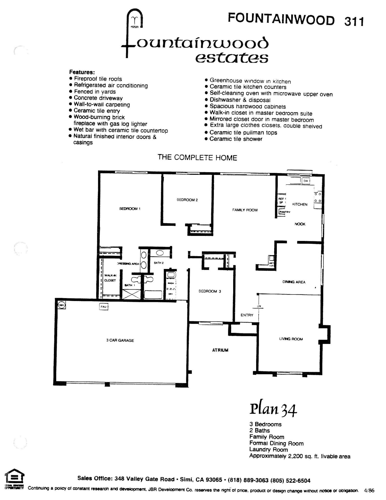 Fountainwood Estates - Plan 34