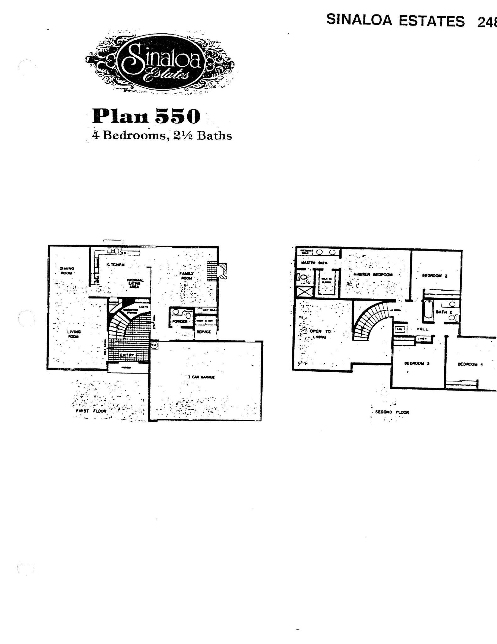 Sinaloa Estates - Plan 550