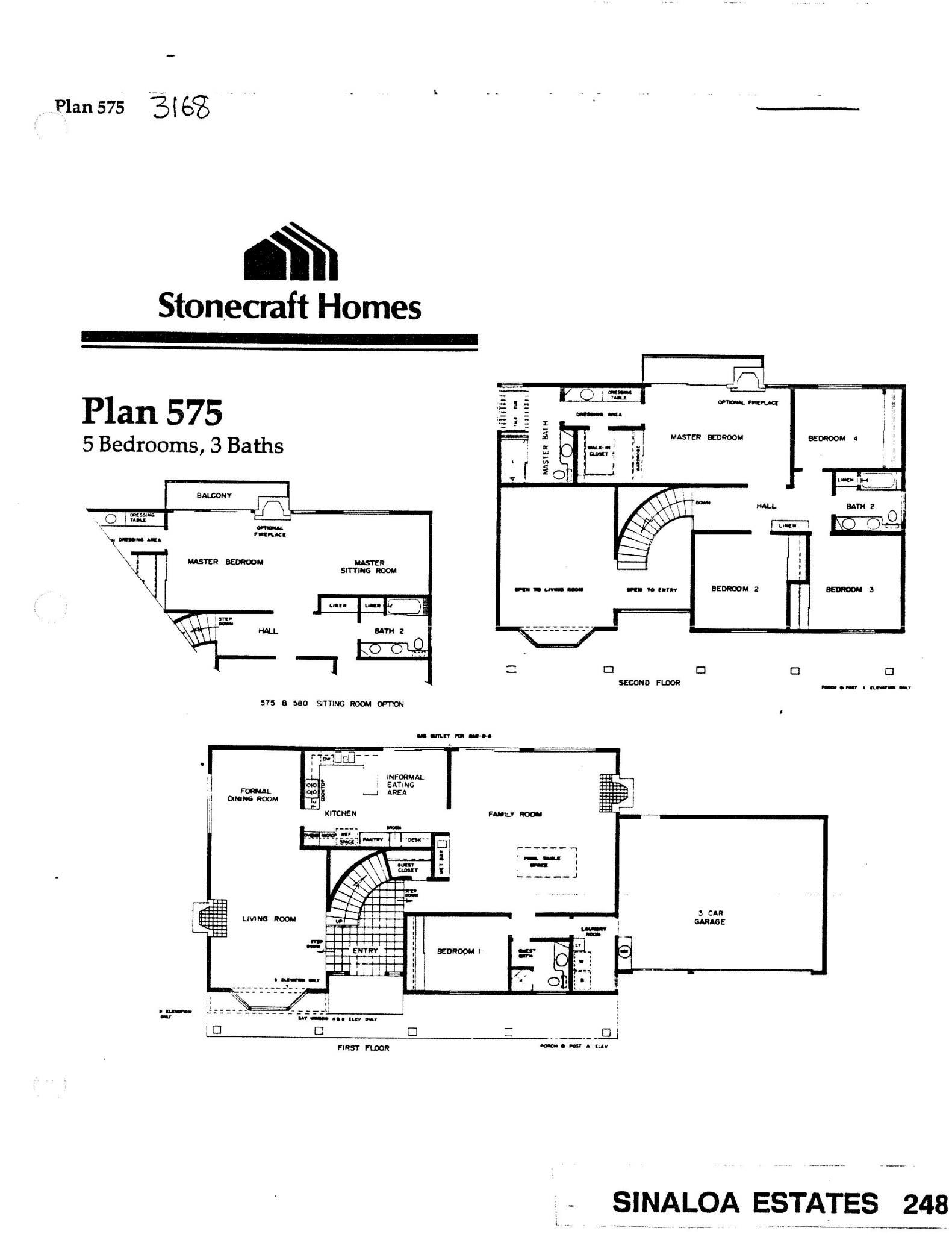Sinaloa Estates - Plan 575