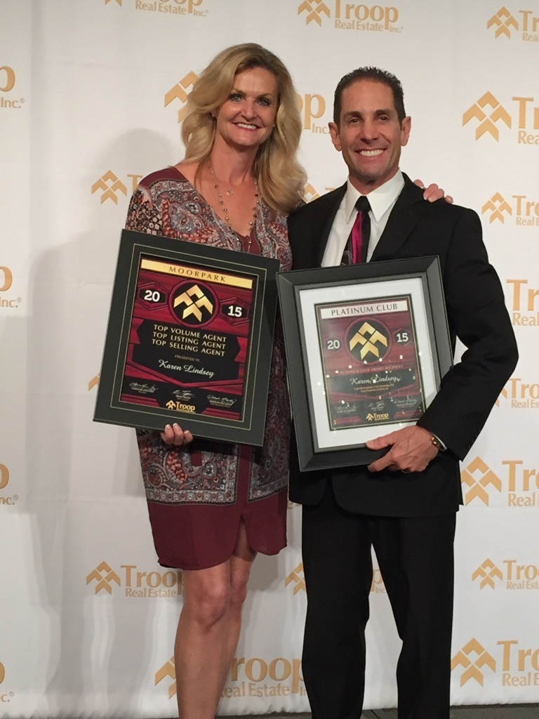 Award winning Realtor Karen Lindsey