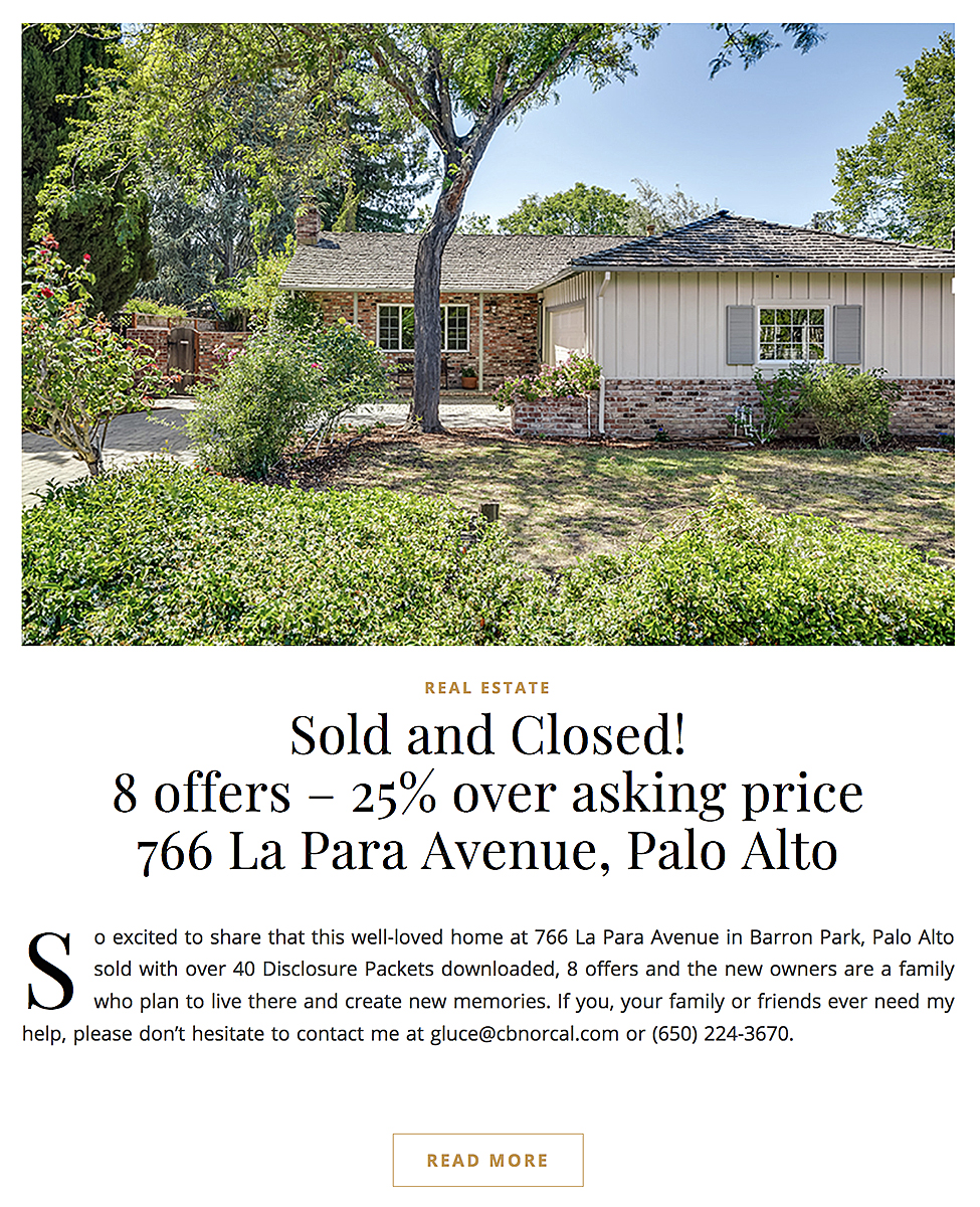 Sold and Closed!