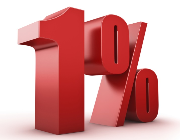 One Percent Listing Fee