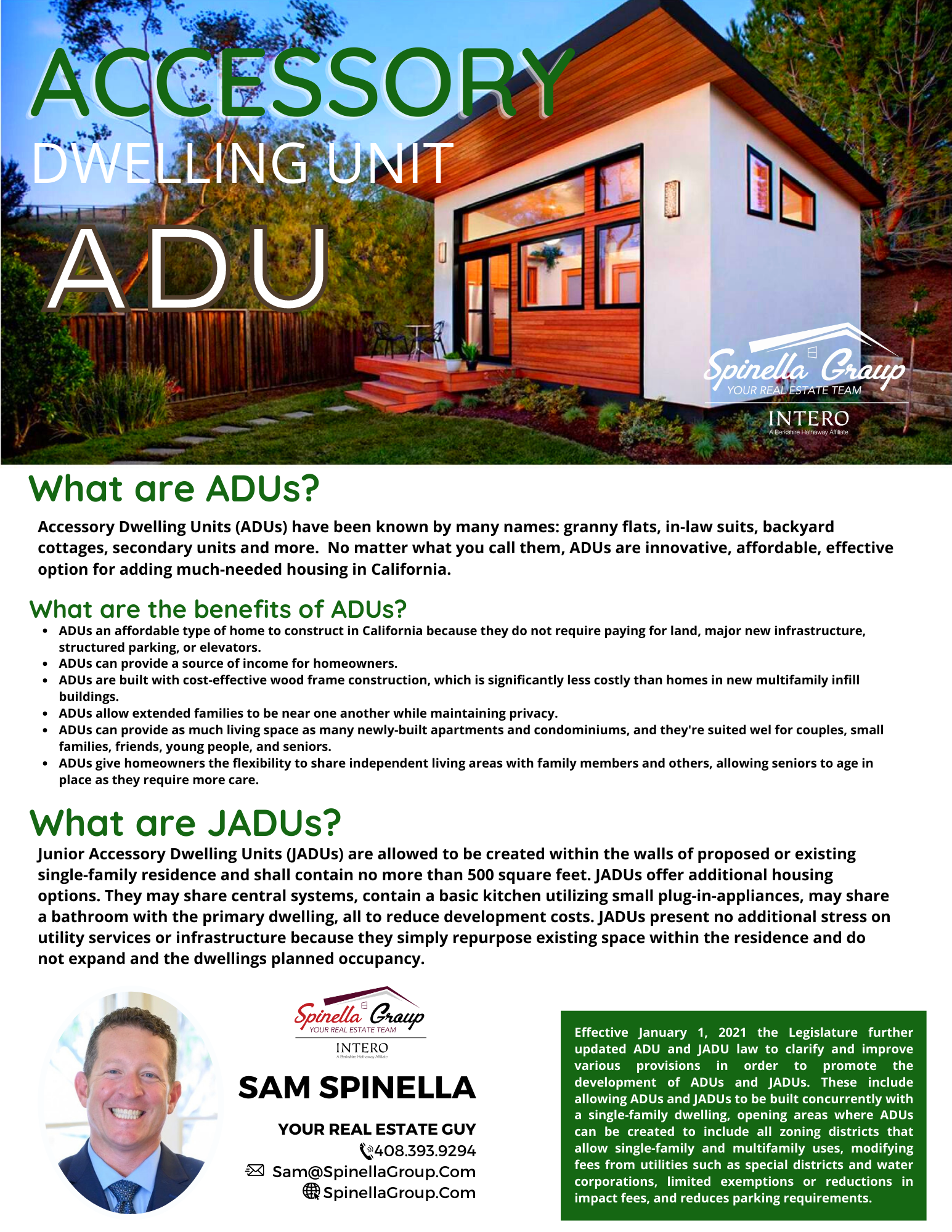 What are ADUs?