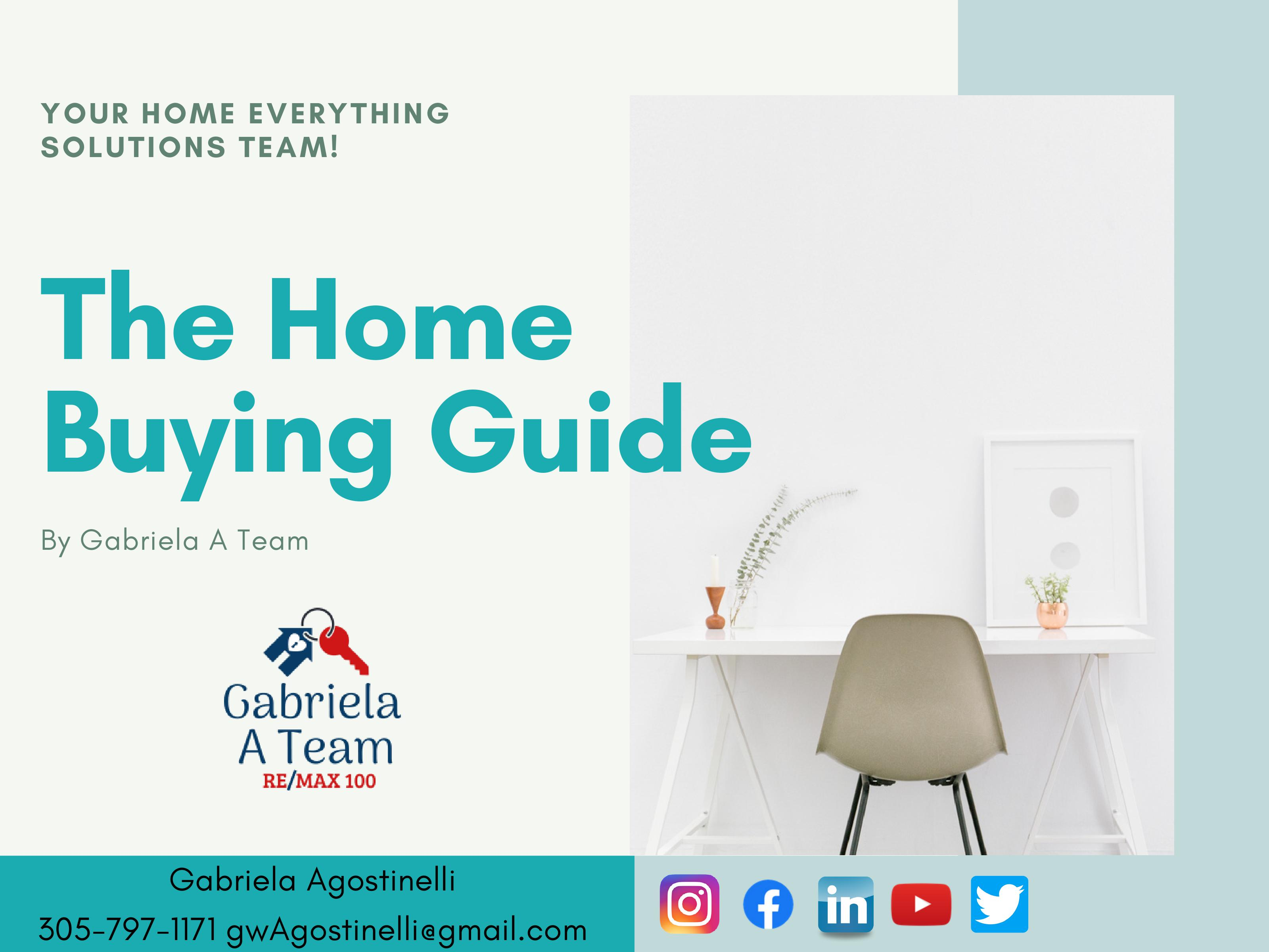 1st slide of home buying guide