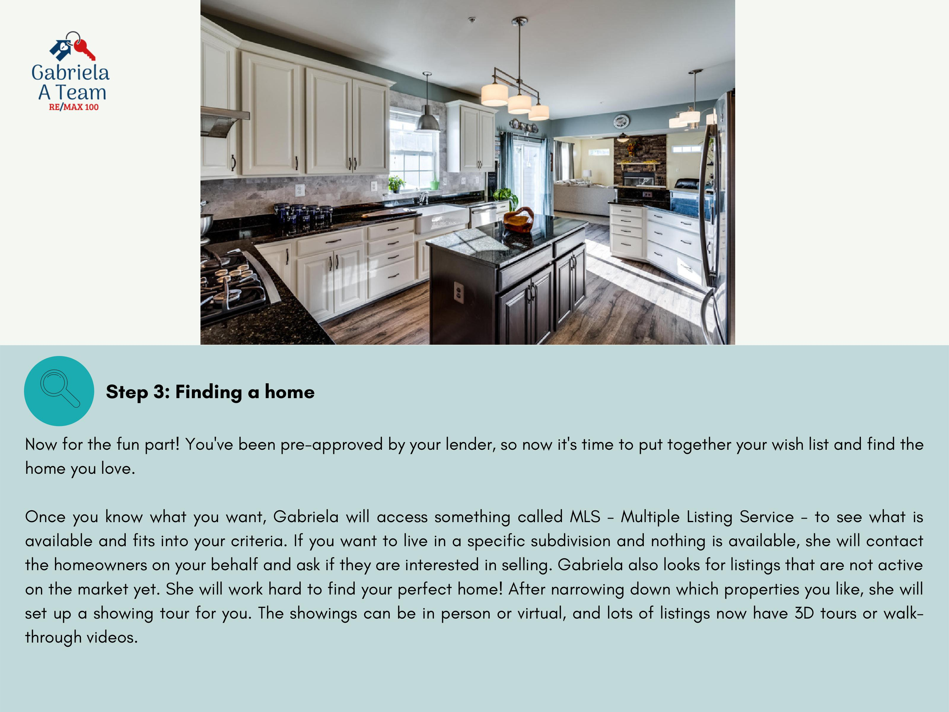 5th slide of home buying guide 3rd setp