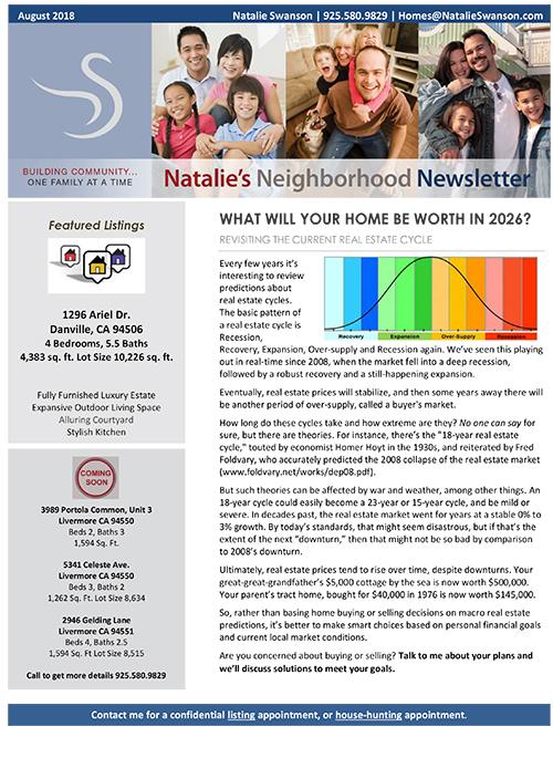 NL August 2018 Newsletter