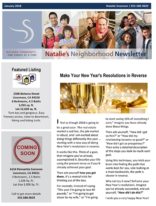 NL Jan 2018 Newsletter