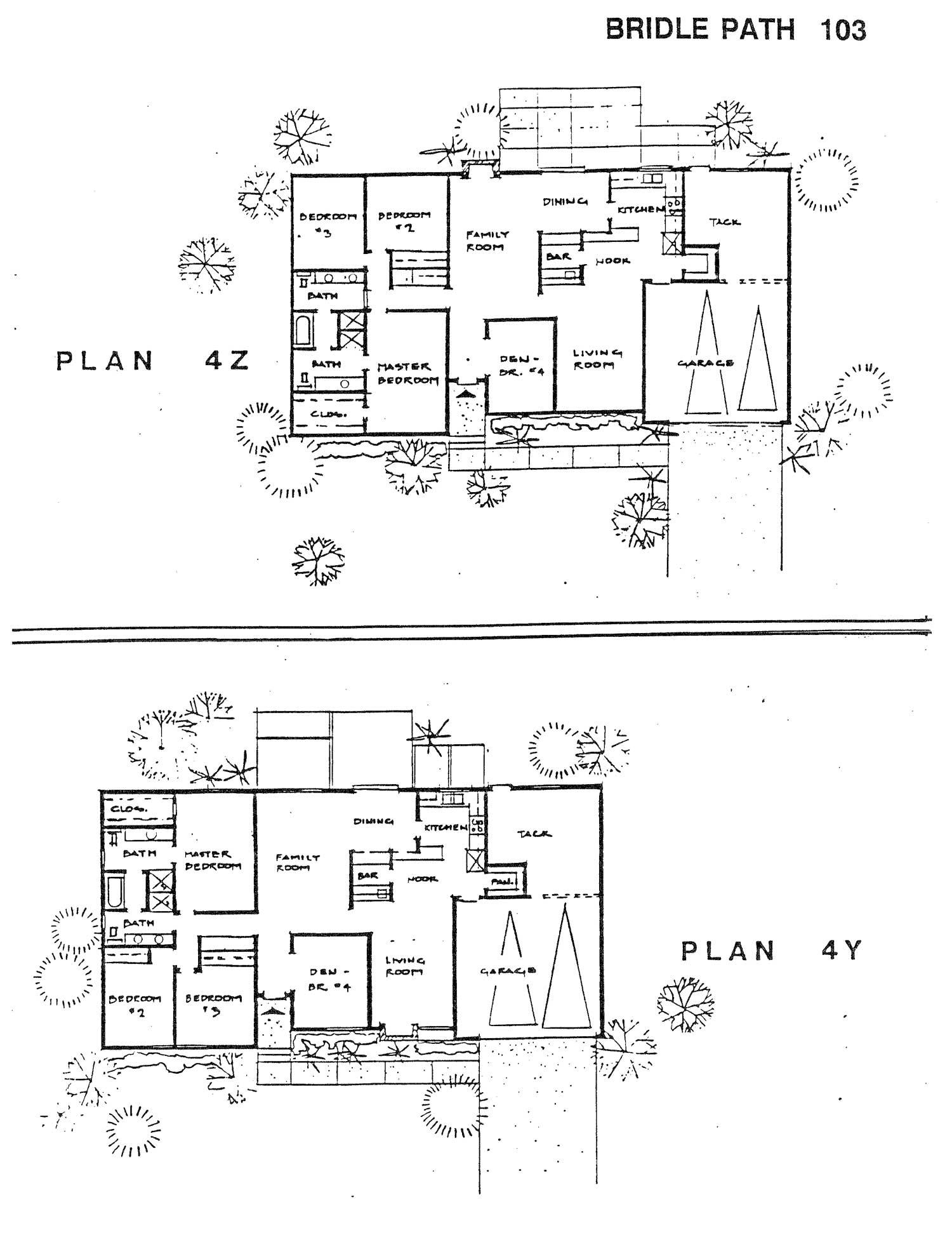 Bridle Path - Plan 4Z & 4Y