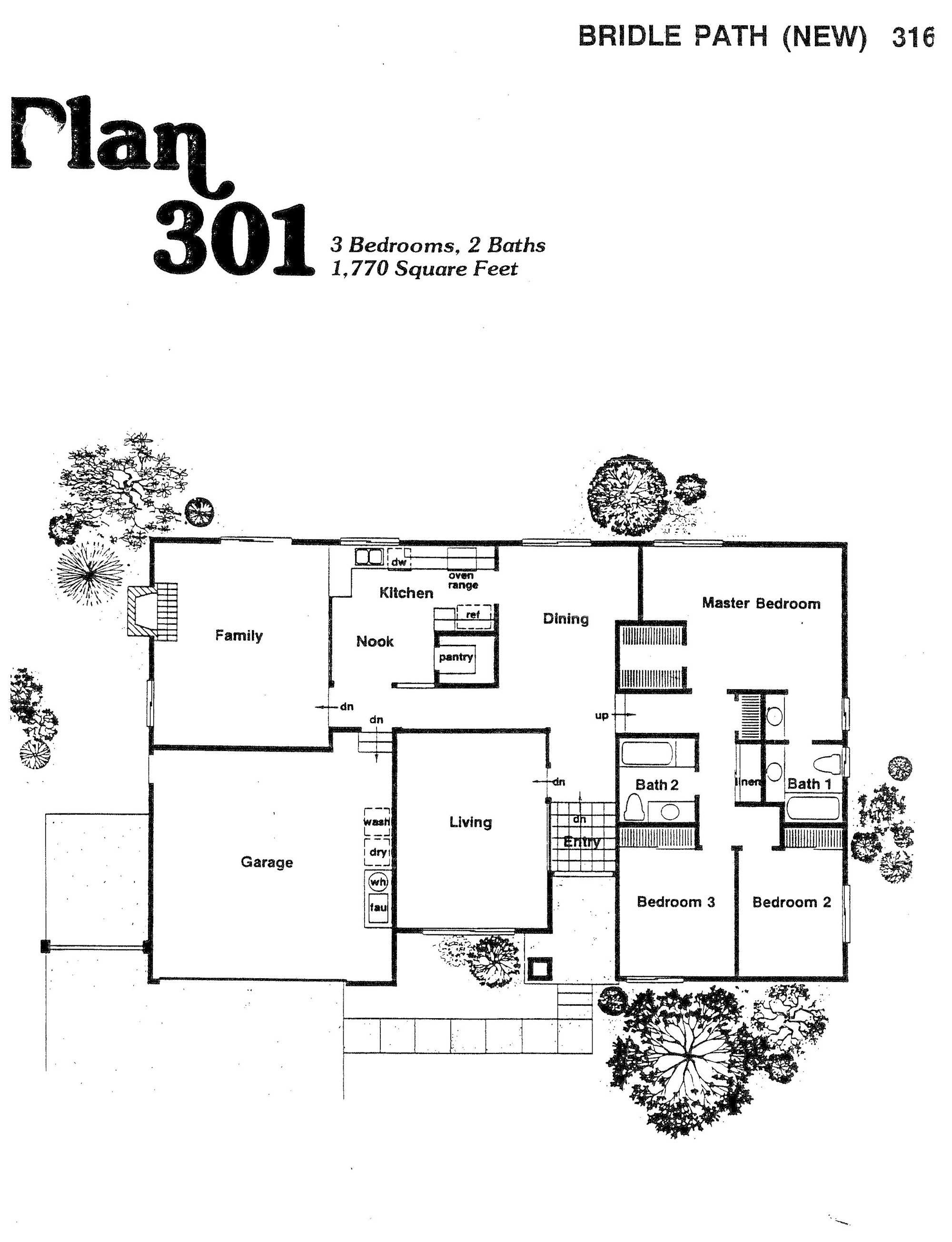 Bridle Path - Plan 301
