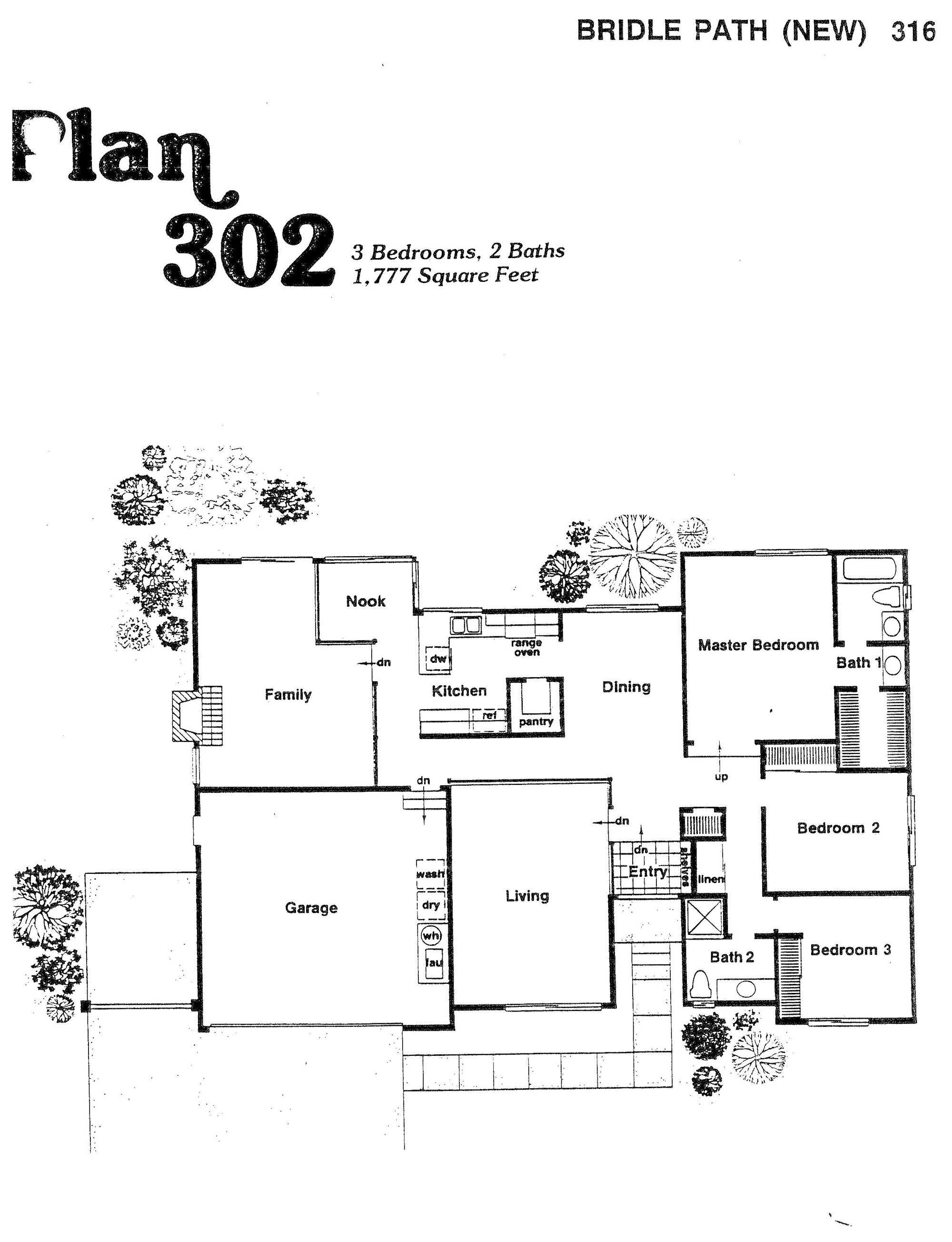 Bridle Path - Plan 302
