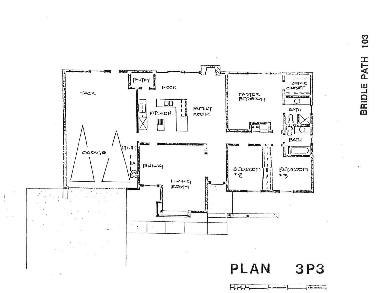 Bridle Path - Plan 3P3