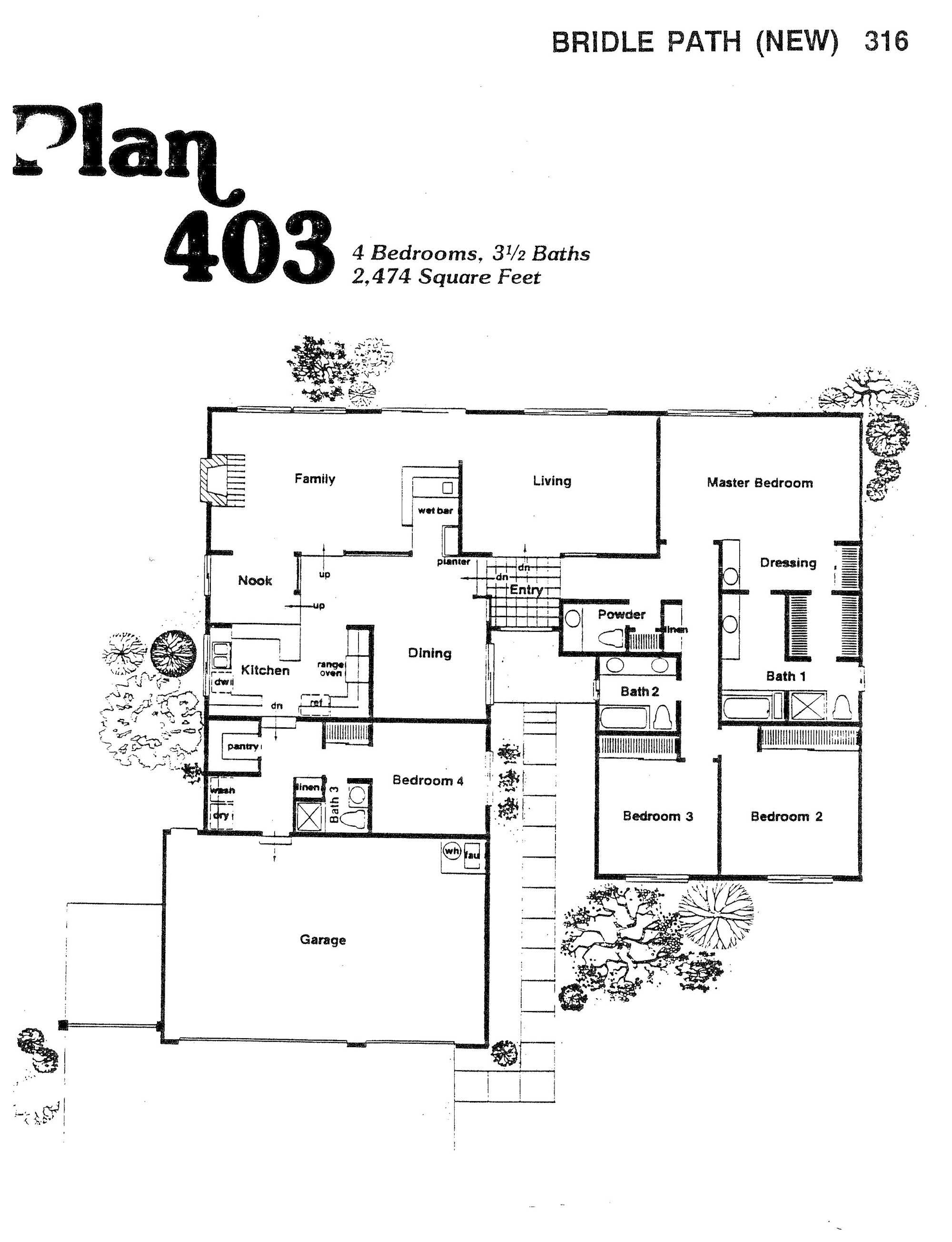 Bridle Path - Plan 403