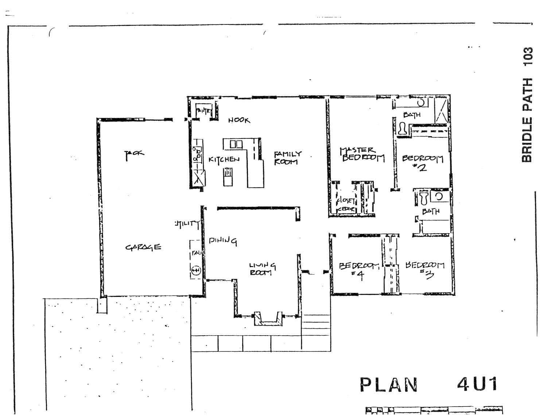 Bridle Path - Plan 4U1