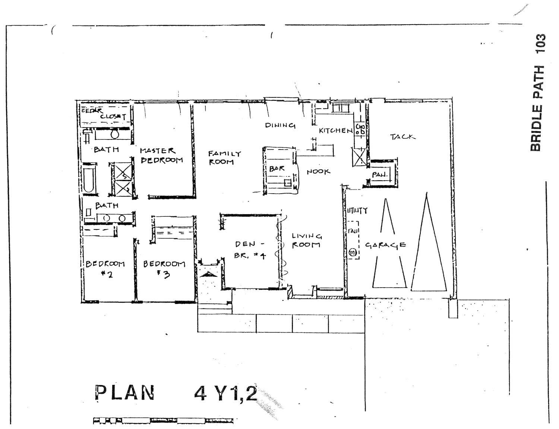 Bridle Path - Plan 4Y1,2
