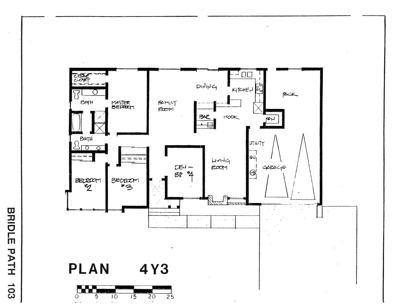 Bridle Path - Plan 4Y3