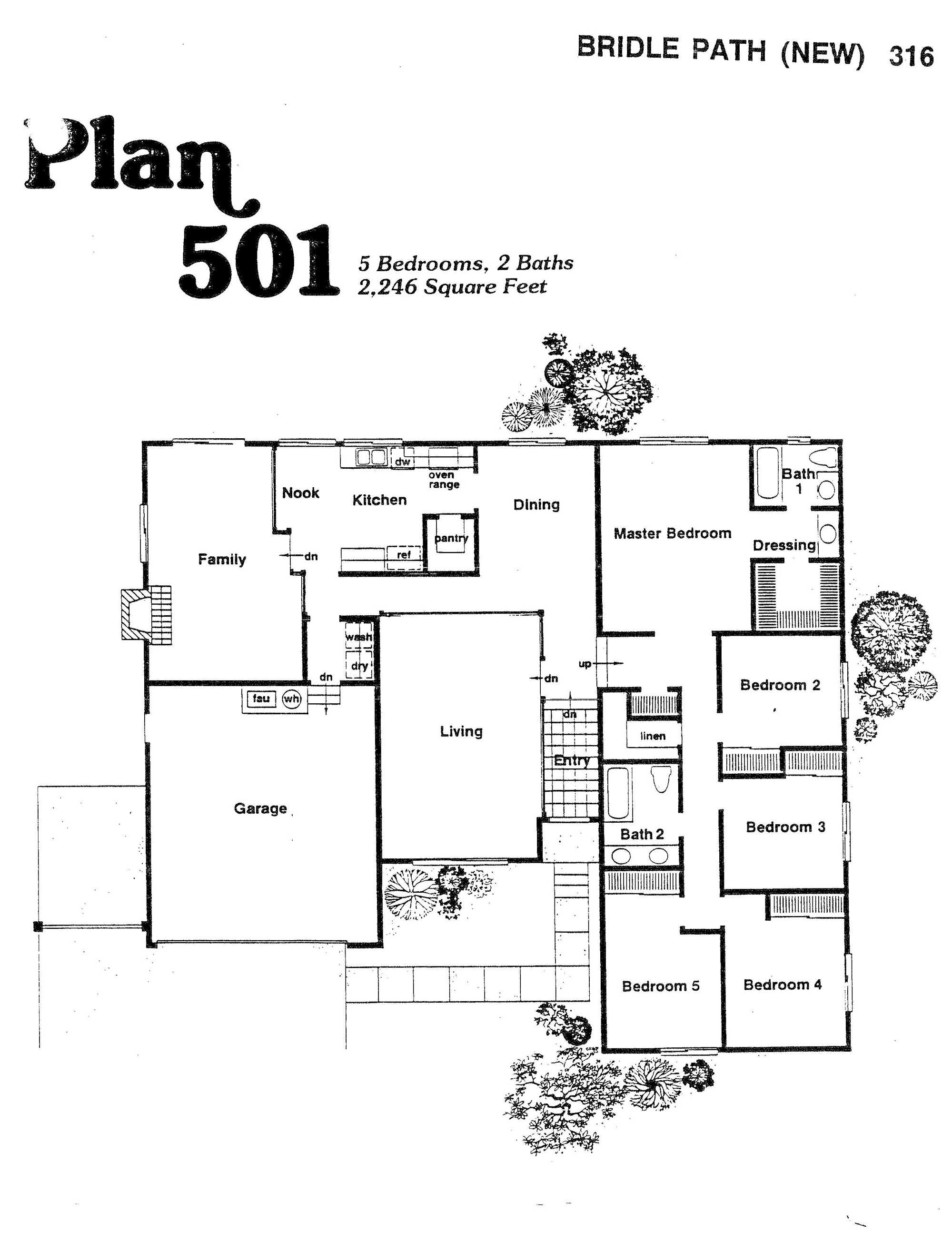 Bridle Path - Plan 501
