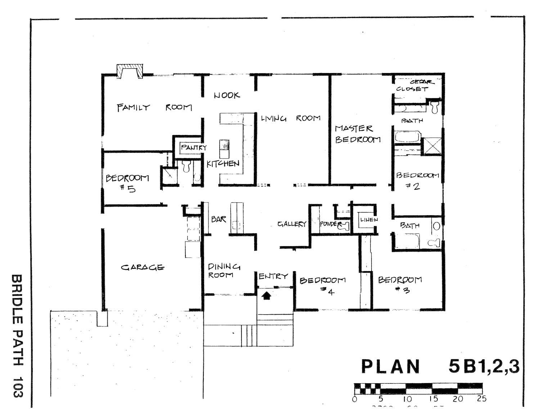 Bridle Path - Plan 5B1,2,3