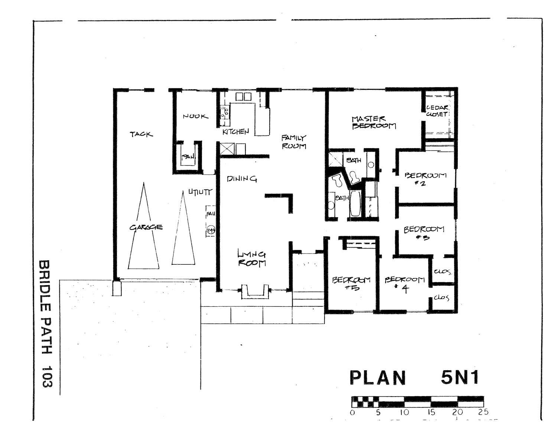 Bridle Path - Plan 5N1