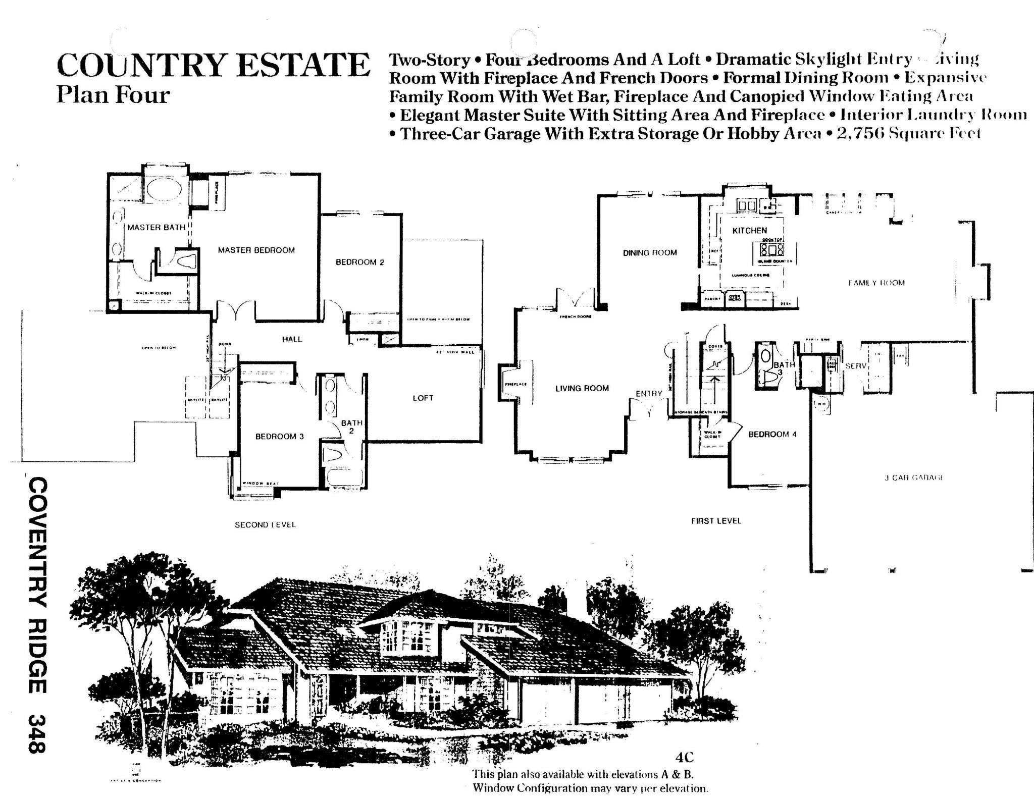 Coventry Ridge - Country Estate - Plan Four