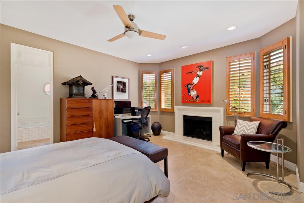 Plan One Master Bedroom